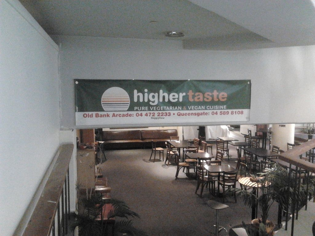 "Photo of Higher Taste Restaurant  by <a href=""/members/profile/Rico"">Rico</a> <br/>Entry to Higher Taste from inside the mall. Can be hard to find, as you tend to notice the currency exchange booth out front instead <br/> January 19, 2016  - <a href='/contact/abuse/image/10279/132964'>Report</a>"
