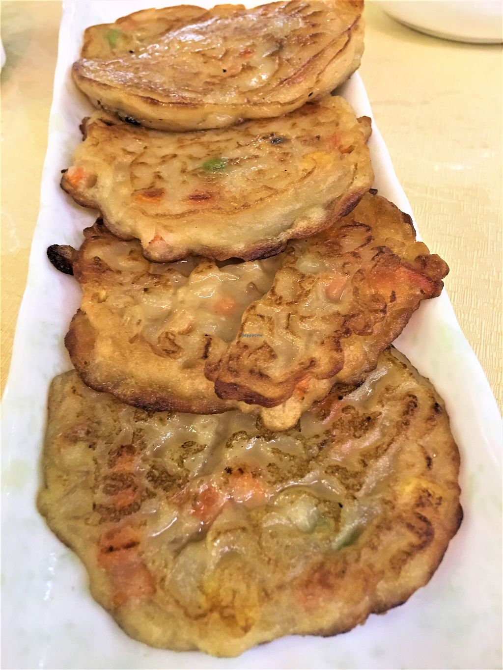 """Photo of A Mi Tuo Fo Su Xin Yuan  by <a href=""""/members/profile/Stevie"""">Stevie</a> <br/>Vegan pancake <br/> October 13, 2017  - <a href='/contact/abuse/image/102842/314740'>Report</a>"""