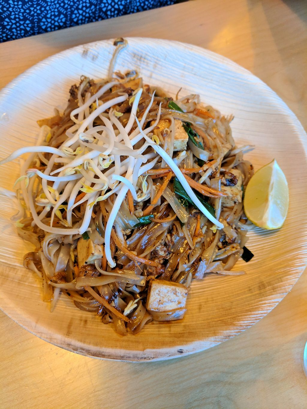 """Photo of Chang Ba Thai Restaurant  by <a href=""""/members/profile/eee135"""">eee135</a> <br/>Pad Thai (vegan) <br/> October 14, 2017  - <a href='/contact/abuse/image/102849/314997'>Report</a>"""