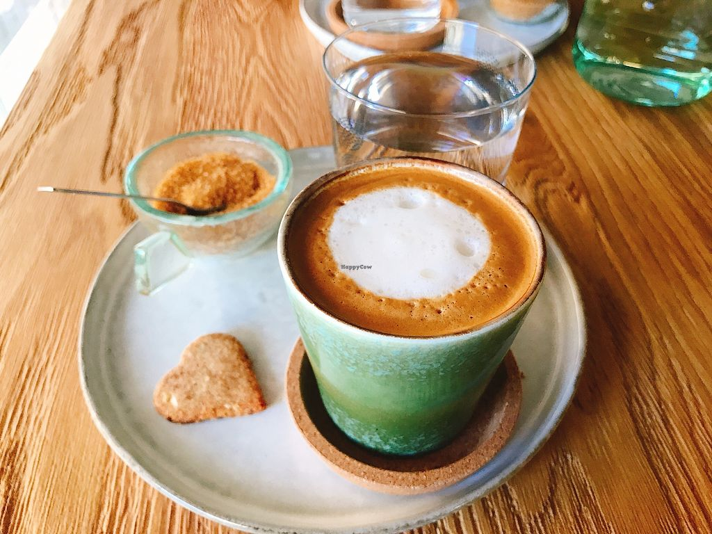 "Photo of Cafe Parallel 43  by <a href=""/members/profile/MimiBenda"">MimiBenda</a> <br/>Capuccino with coconut milk <br/> October 21, 2017  - <a href='/contact/abuse/image/102851/317258'>Report</a>"