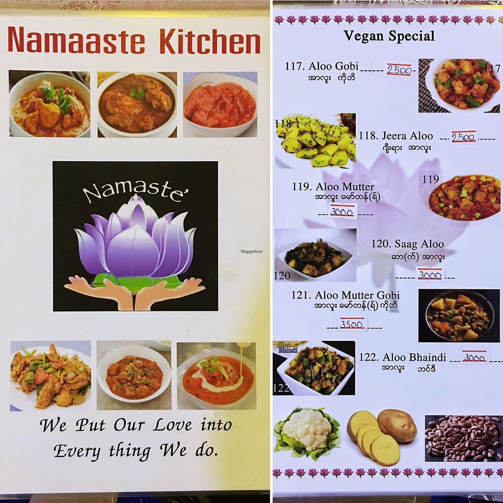 """Photo of Namaaste Kitchen  by <a href=""""/members/profile/AnthonyPolicano"""">AnthonyPolicano</a> <br/>Menu: Vegan Specials <br/> October 14, 2017  - <a href='/contact/abuse/image/102859/315014'>Report</a>"""