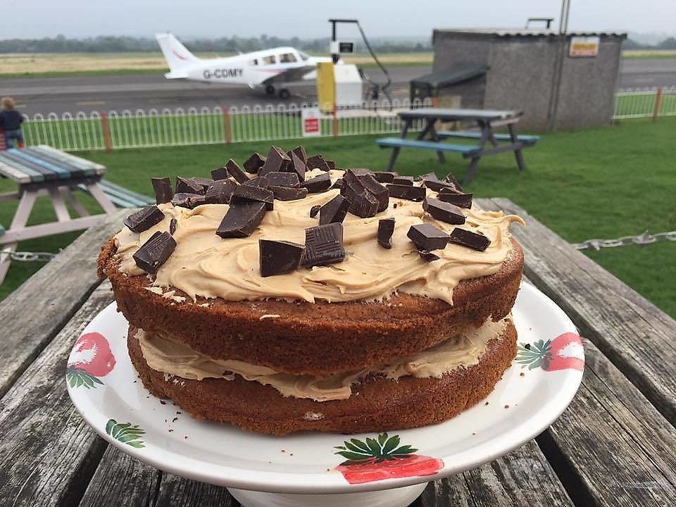 """Photo of Chocks Away  by <a href=""""/members/profile/community5"""">community5</a> <br/>Vegan cappuccino cake <br/> October 13, 2017  - <a href='/contact/abuse/image/102885/314924'>Report</a>"""