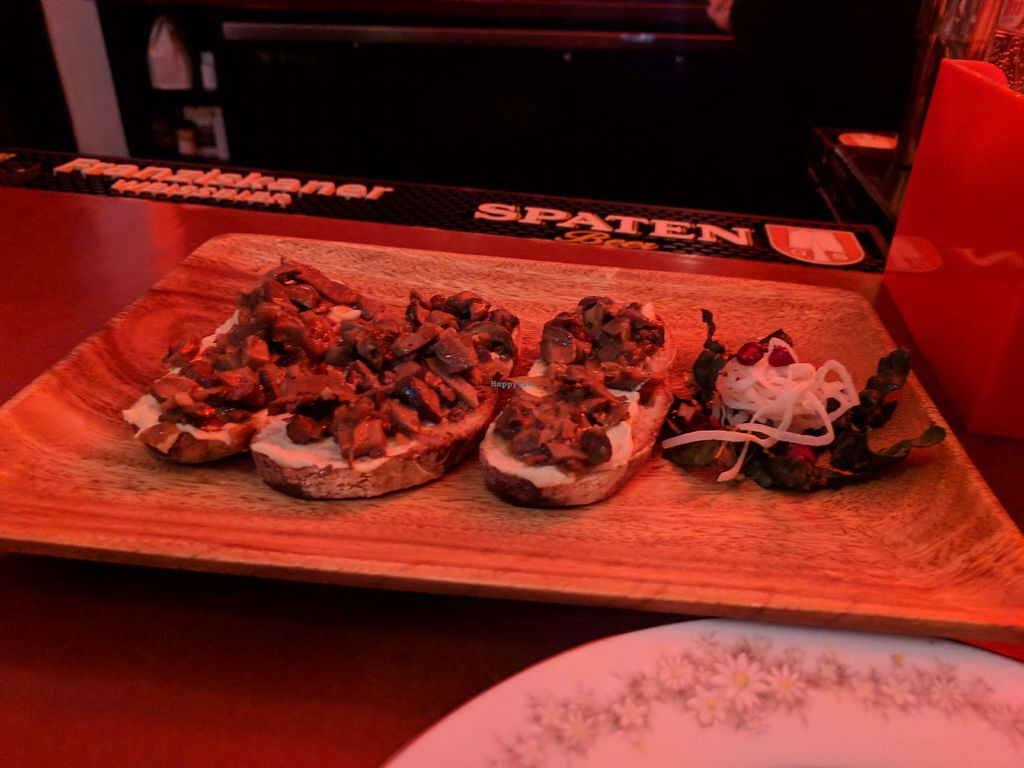 "Photo of Strange Town  by <a href=""/members/profile/dmgriffin"">dmgriffin</a> <br/>Mushroom Tartine with Cashew Ricotta <br/> December 27, 2017  - <a href='/contact/abuse/image/102893/339651'>Report</a>"