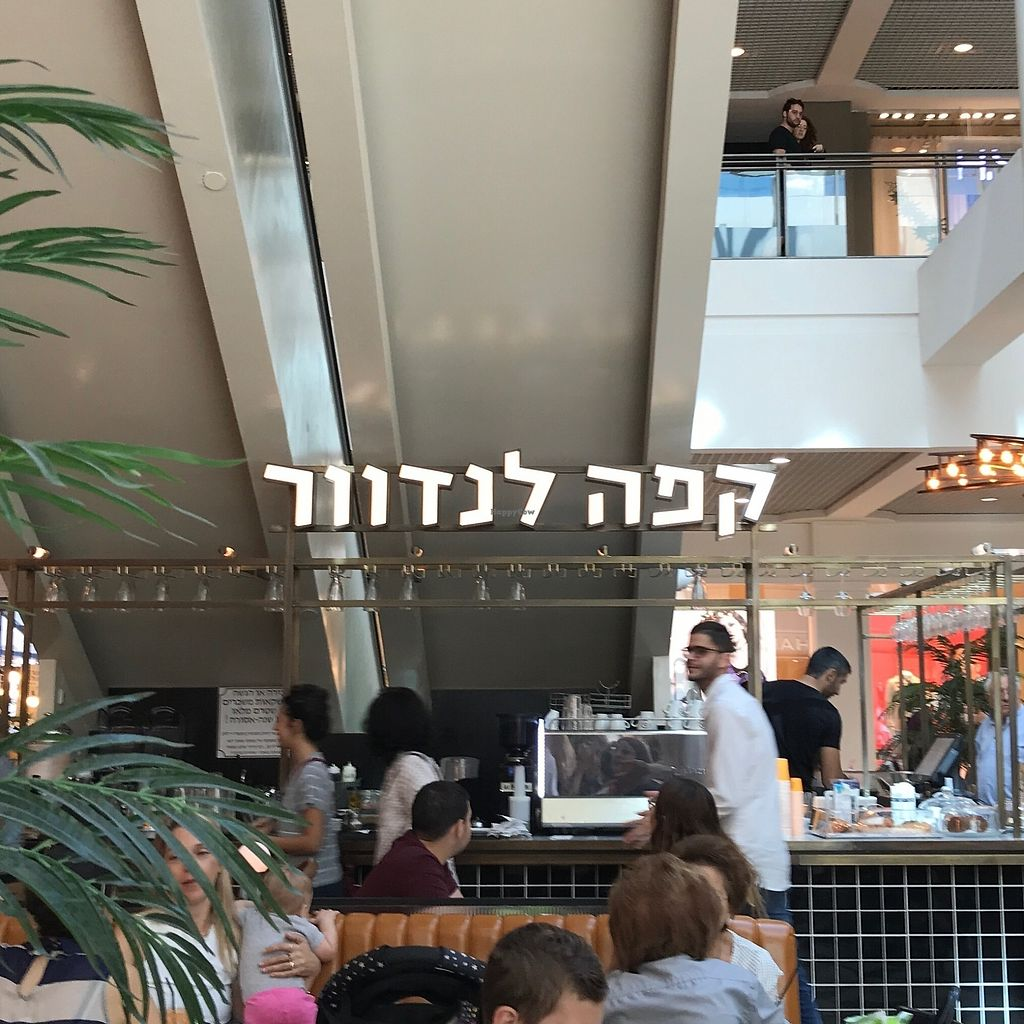 """Photo of Cafe Landwer - Ramat Aviv Mall  by <a href=""""/members/profile/Brok%20O.%20Lee"""">Brok O. Lee</a> <br/>Inside <br/> October 14, 2017  - <a href='/contact/abuse/image/102895/314949'>Report</a>"""