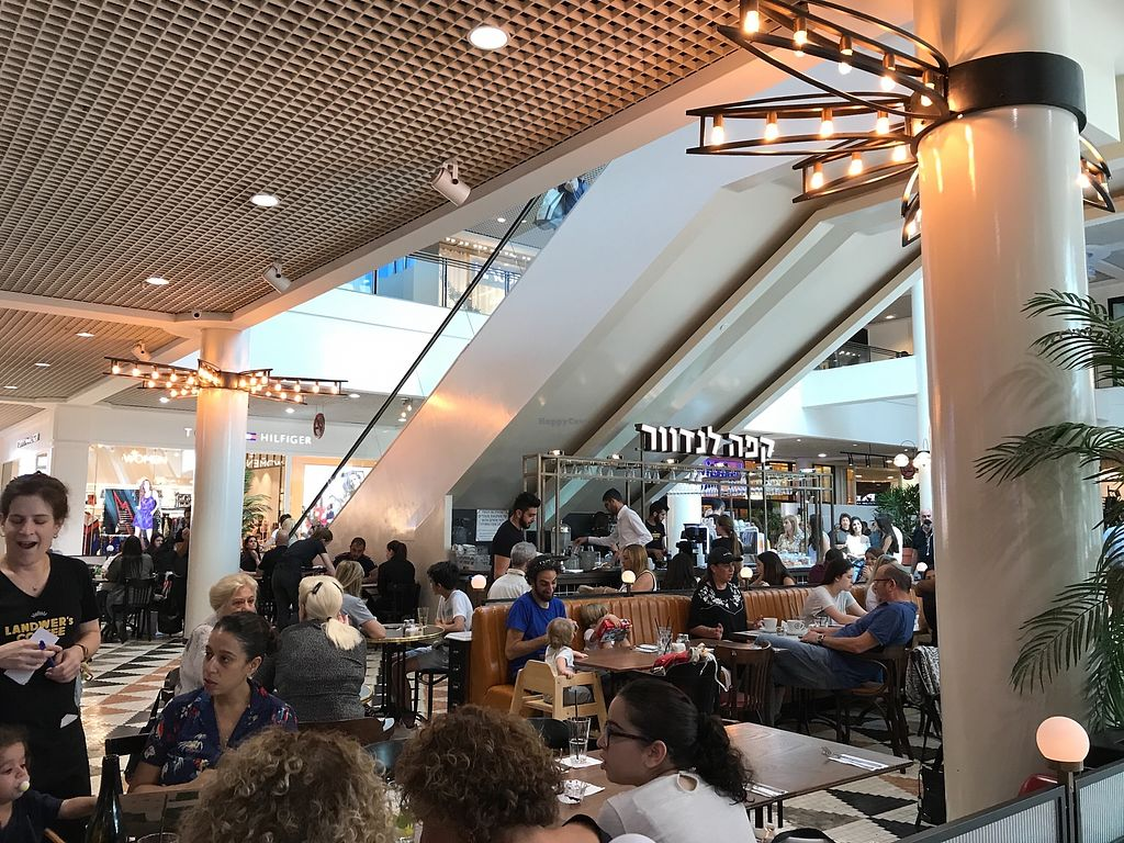 """Photo of Cafe Landwer - Ramat Aviv Mall  by <a href=""""/members/profile/Brok%20O.%20Lee"""">Brok O. Lee</a> <br/>Inside <br/> October 14, 2017  - <a href='/contact/abuse/image/102895/314950'>Report</a>"""