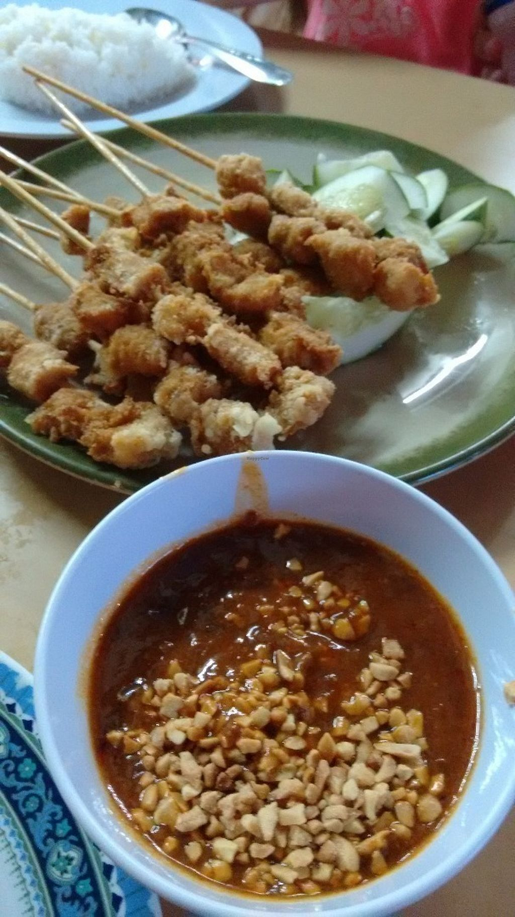 "Photo of Yi Xin Vegan Restaurant  by <a href=""/members/profile/craigmc"">craigmc</a> <br/>Satay <br/> July 12, 2016  - <a href='/contact/abuse/image/10289/159326'>Report</a>"