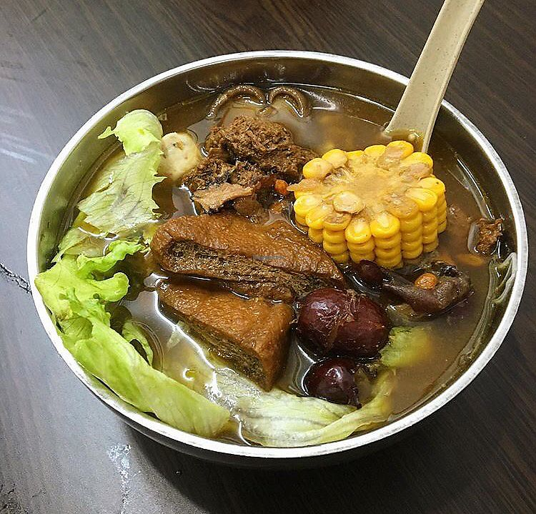 "Photo of Yi Xin Vegan Restaurant  by <a href=""/members/profile/breakfastparadise"">breakfastparadise</a> <br/>Bak kut teh mee sua <br/> March 24, 2018  - <a href='/contact/abuse/image/10289/375166'>Report</a>"