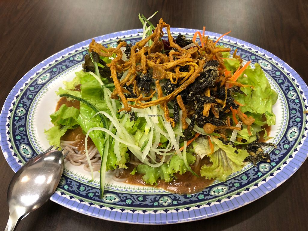 "Photo of Yi Xin Vegan Restaurant  by <a href=""/members/profile/AmyLeySzeThoo"">AmyLeySzeThoo</a> <br/>Wheat Noodle (Soba) <br/> April 14, 2018  - <a href='/contact/abuse/image/10289/385591'>Report</a>"