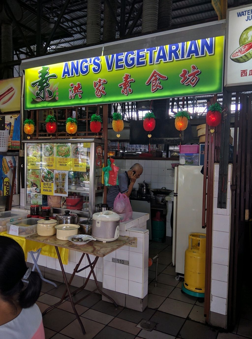 "Photo of Ang's Vegetarian Food Stall  by <a href=""/members/profile/Summer_Tan"">Summer_Tan</a> <br/>The Stall <br/> February 3, 2018  - <a href='/contact/abuse/image/102917/354512'>Report</a>"