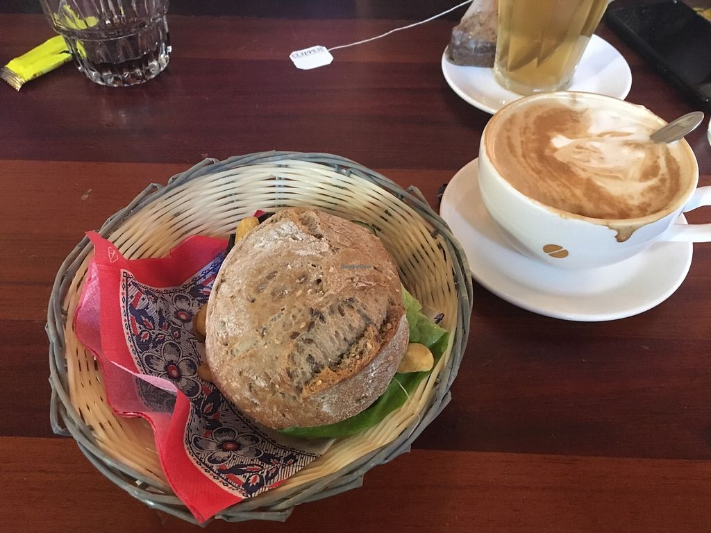 """Photo of Filmtheater Kriterion  by <a href=""""/members/profile/Tempehlover"""">Tempehlover</a> <br/>killer eggplant from outer space and a soy latte <br/> February 6, 2018  - <a href='/contact/abuse/image/102919/355711'>Report</a>"""