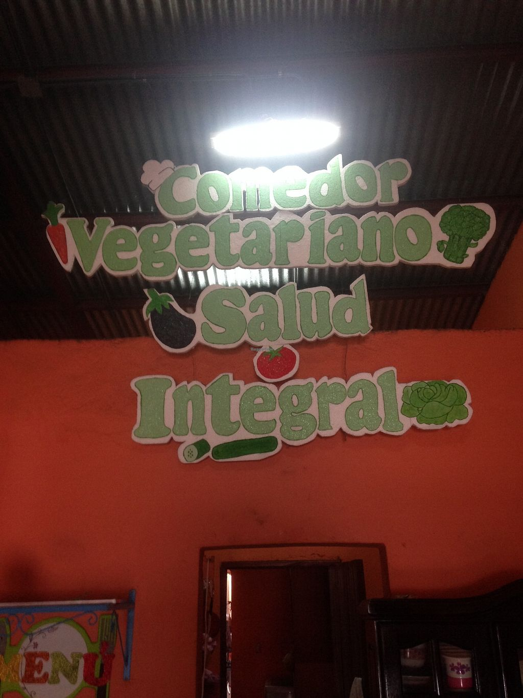"""Photo of Comedor Vegetariano Salud Integral  by <a href=""""/members/profile/Stubler"""">Stubler</a> <br/>Really friendly and welcoming hosts <br/> October 15, 2017  - <a href='/contact/abuse/image/102923/315514'>Report</a>"""