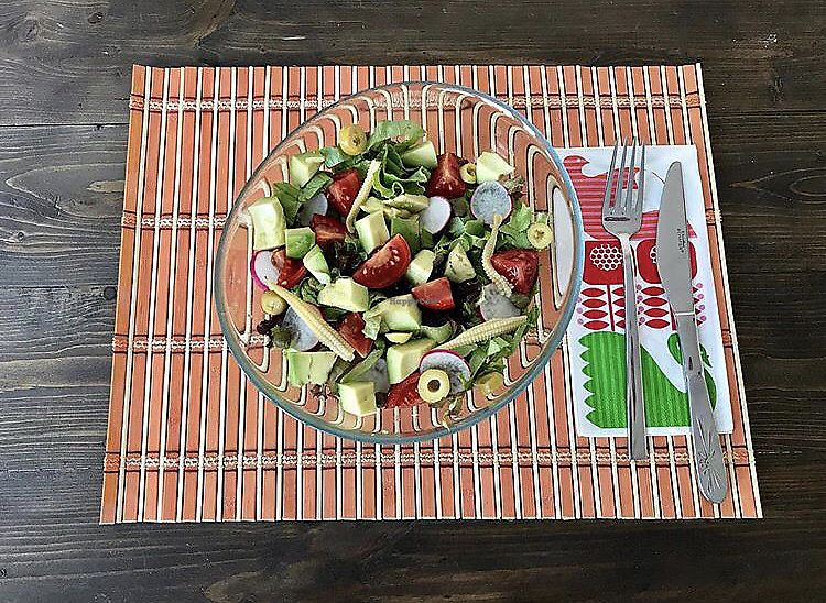 """Photo of Capella Cafe  by <a href=""""/members/profile/veganoteacher"""">veganoteacher</a> <br/>Avocado Salad <br/> October 15, 2017  - <a href='/contact/abuse/image/102939/315454'>Report</a>"""