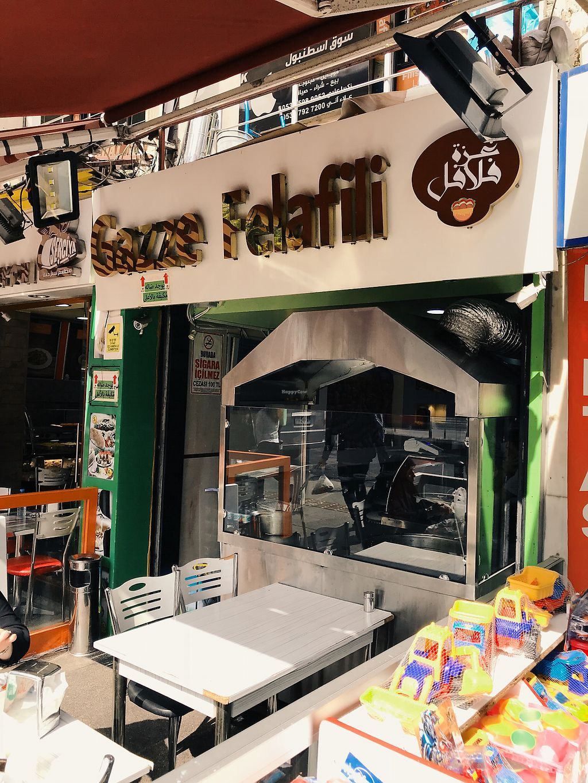 "Photo of Gazze Felafili   by <a href=""/members/profile/veganoteacher"">veganoteacher</a> <br/>Falafel Corner <br/> October 15, 2017  - <a href='/contact/abuse/image/102940/315451'>Report</a>"