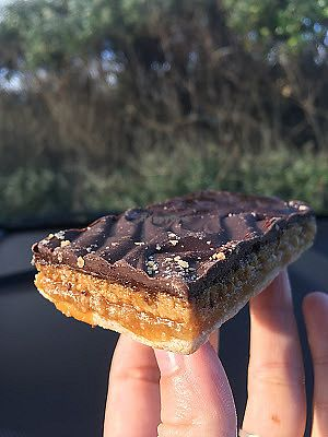 """Photo of La Panella  by <a href=""""/members/profile/jojoinbrighton"""">jojoinbrighton</a> <br/>Caramel slice <br/> August 5, 2017  - <a href='/contact/abuse/image/10299/289098'>Report</a>"""