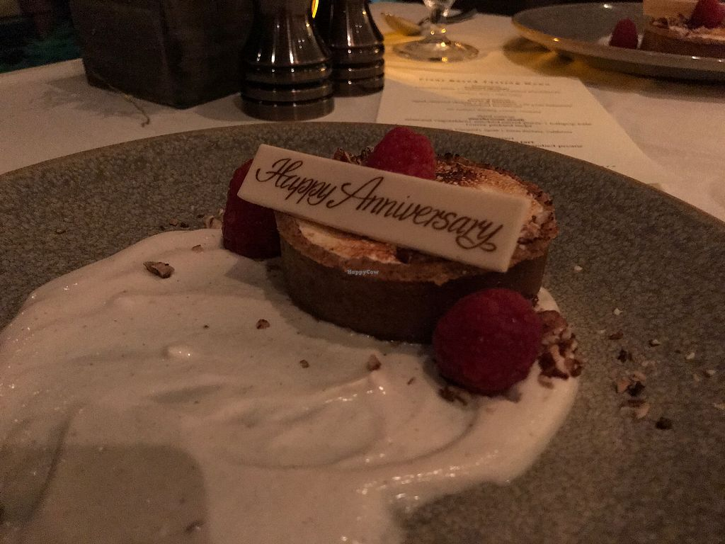 """Photo of California Market at Pacific's Edge  by <a href=""""/members/profile/Clean%26Green"""">Clean&Green</a> <br/>Sweet potato tart, burnt marshmallow creams, candied pecans <br/> January 17, 2018  - <a href='/contact/abuse/image/103003/347454'>Report</a>"""