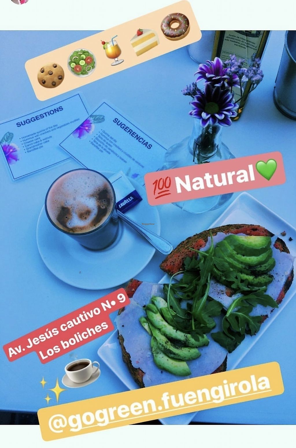 """Photo of Gogreen Fuengirola  by <a href=""""/members/profile/Gogreenfuengirola"""">Gogreenfuengirola</a> <br/>Avocado toast! <br/> October 25, 2017  - <a href='/contact/abuse/image/103023/318668'>Report</a>"""