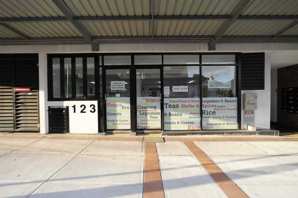 """Photo of Village Wholefoods & Bulk Foods  by <a href=""""/members/profile/Village_People"""">Village_People</a> <br/>Village Wholefoods Front Door <br/> October 16, 2017  - <a href='/contact/abuse/image/103069/315968'>Report</a>"""