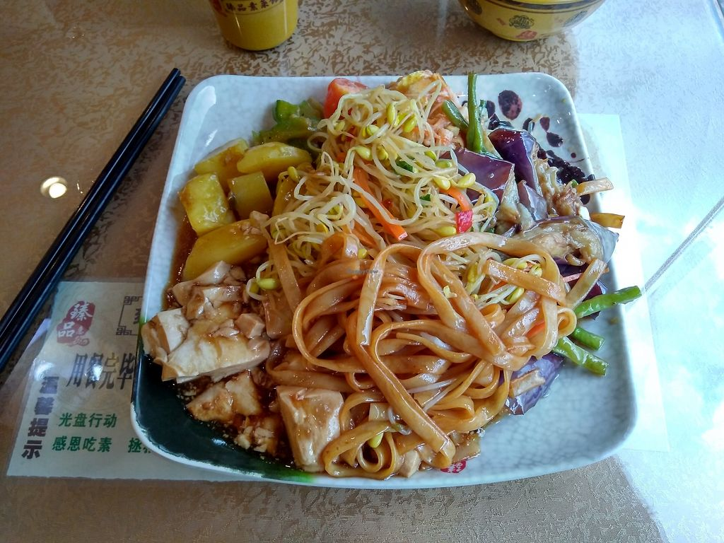 """Photo of Pierre Vegetarian  by <a href=""""/members/profile/JackTanner"""">JackTanner</a> <br/>Typical buffet plate  <br/> October 20, 2017  - <a href='/contact/abuse/image/103077/316862'>Report</a>"""