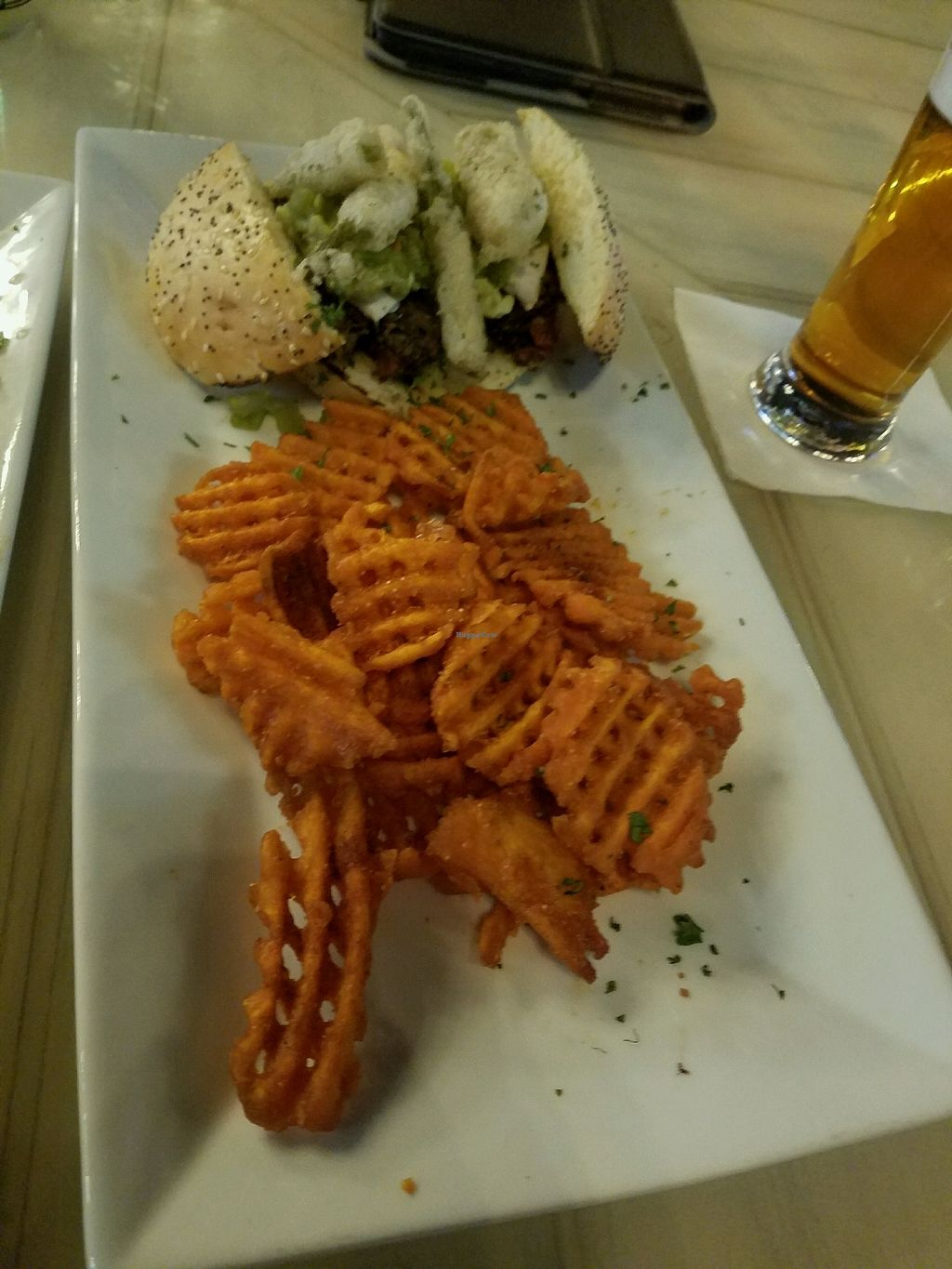 """Photo of Brixens  by <a href=""""/members/profile/MarisaD"""">MarisaD</a> <br/>Triple Green Chili Sliders (vegan) <br/> December 17, 2017  - <a href='/contact/abuse/image/103085/336505'>Report</a>"""