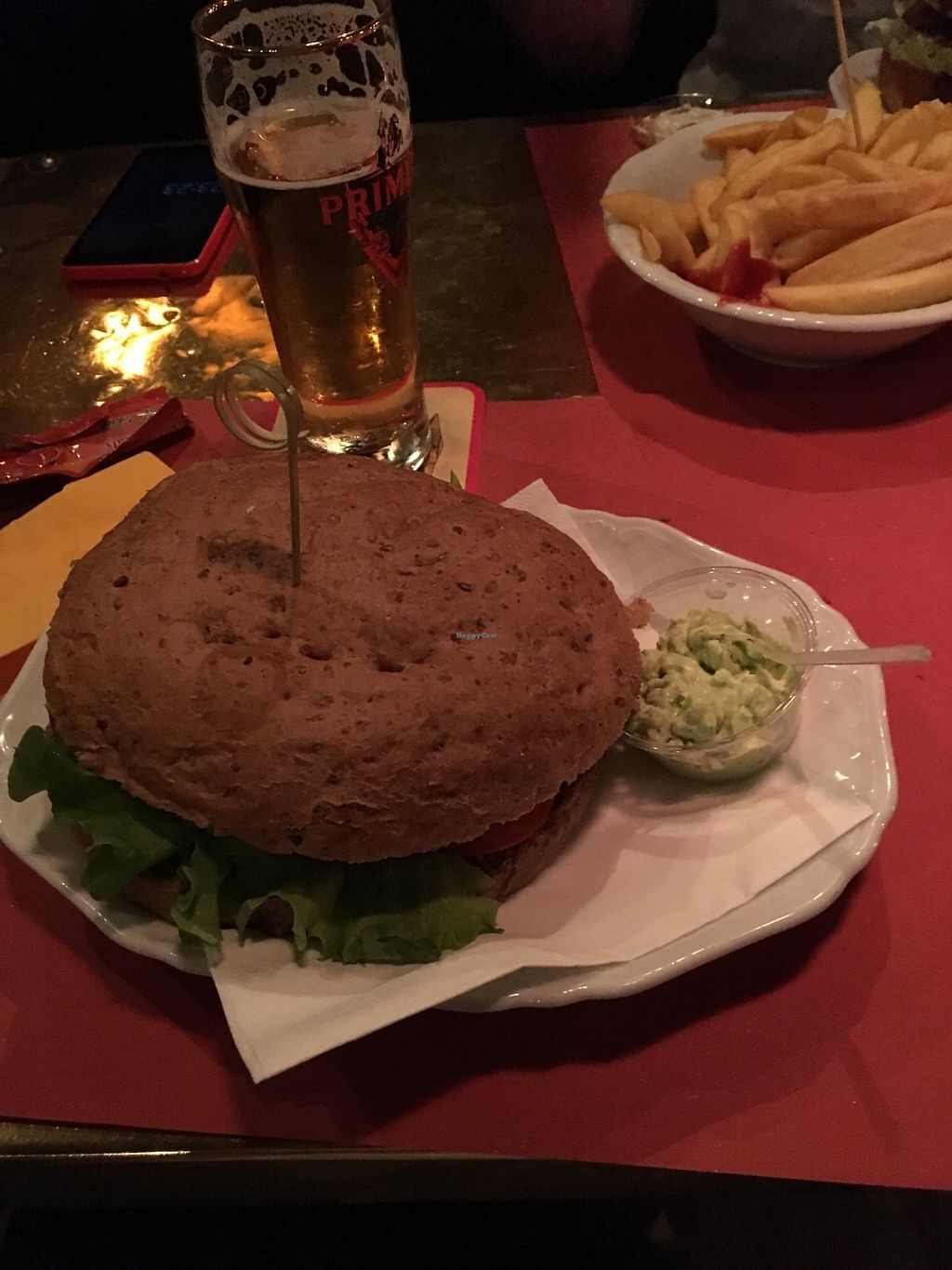 """Photo of Taverna di Mr O  by <a href=""""/members/profile/_zelisa"""">_zelisa</a> <br/>Vegan burger  <br/> October 28, 2017  - <a href='/contact/abuse/image/103119/319413'>Report</a>"""
