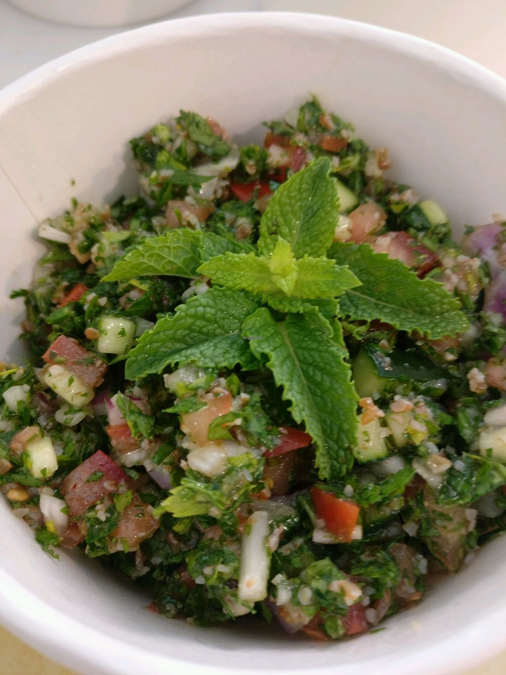 """Photo of Punto Veg  by <a href=""""/members/profile/AliceRossiMarzouka"""">AliceRossiMarzouka</a> <br/>tabbouleh  <br/> December 2, 2017  - <a href='/contact/abuse/image/103123/331340'>Report</a>"""