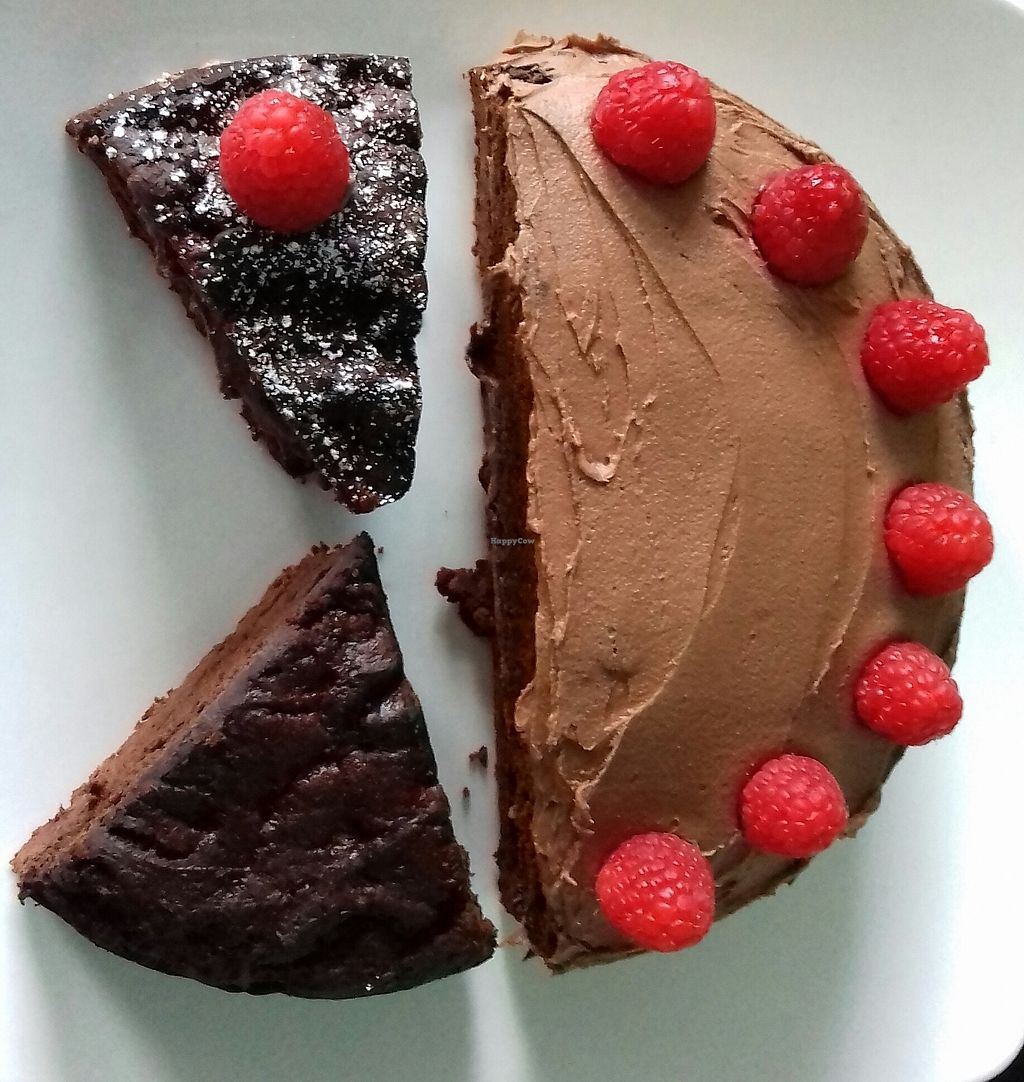 """Photo of 280 Bakes  by <a href=""""/members/profile/LouiseVargas"""">LouiseVargas</a> <br/>Vegan and low fat chocolate cake! <br/> October 24, 2017  - <a href='/contact/abuse/image/103141/318501'>Report</a>"""