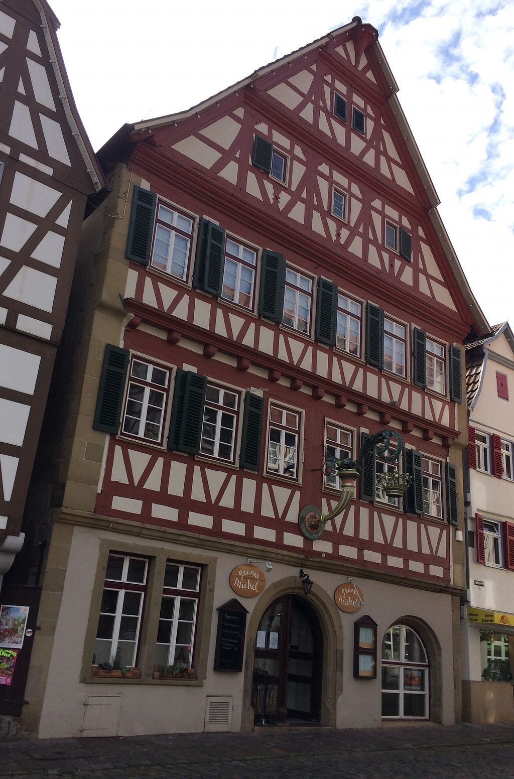"Photo of Grüner Michel   by <a href=""/members/profile/Carissima"">Carissima</a> <br/>Half-timbered facade <br/> October 19, 2017  - <a href='/contact/abuse/image/103176/316636'>Report</a>"