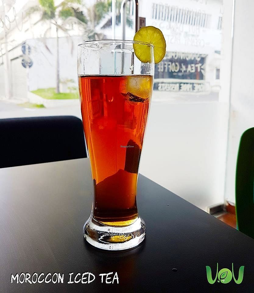 """Photo of The VOV Coffee Lounge  by <a href=""""/members/profile/Chalice777"""">Chalice777</a> <br/>Iced Tea <br/> October 20, 2017  - <a href='/contact/abuse/image/103177/316921'>Report</a>"""