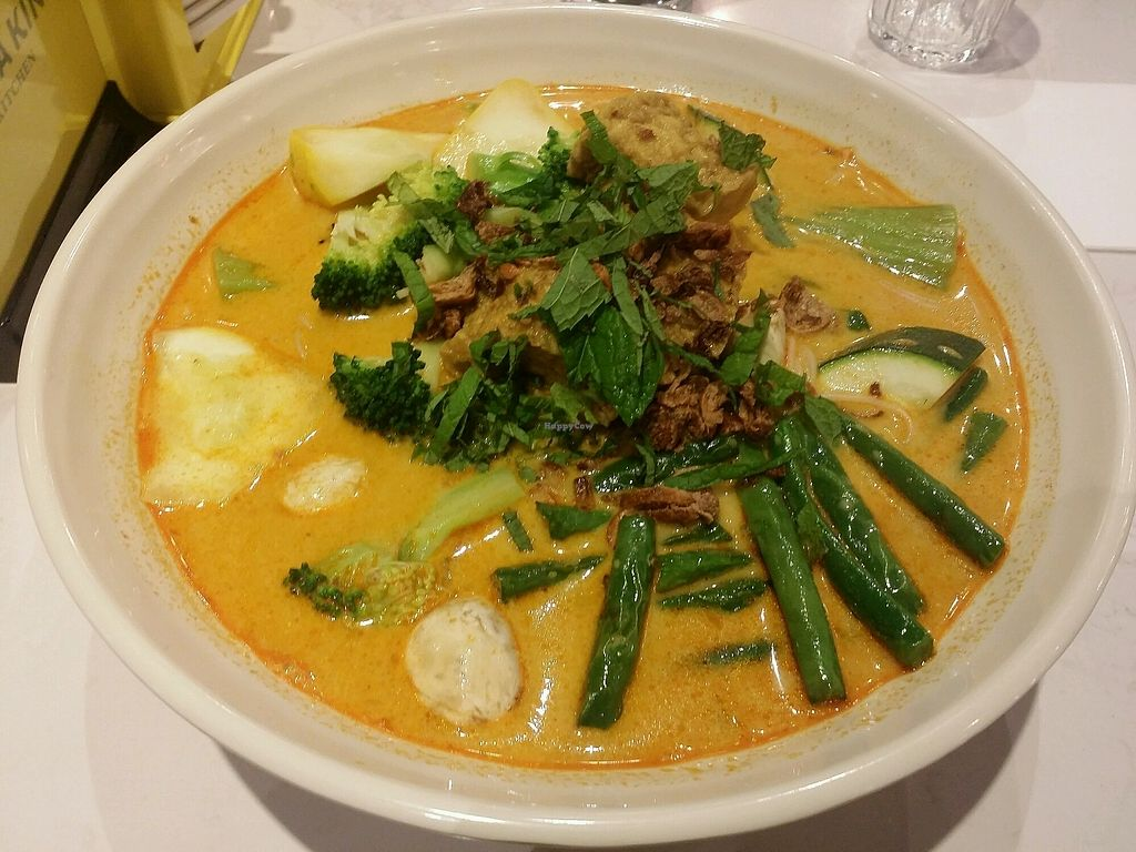 """Photo of Laksa King Kitchen  by <a href=""""/members/profile/ericacrombie"""">ericacrombie</a> <br/>Vegan laksa <br/> November 13, 2017  - <a href='/contact/abuse/image/103181/325042'>Report</a>"""
