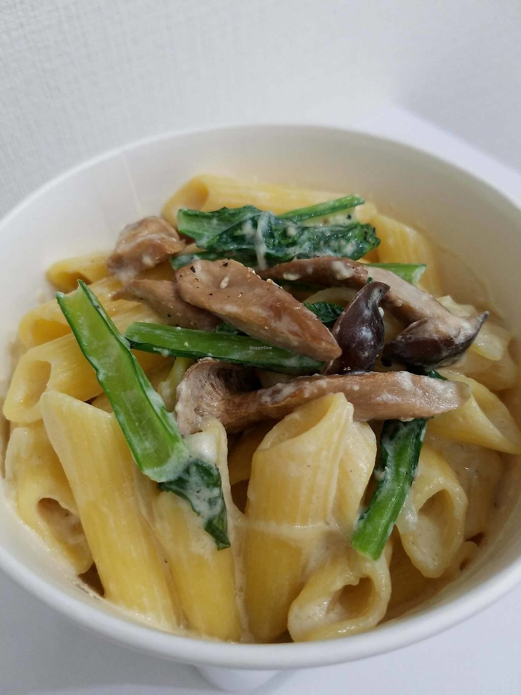 """Photo of Gen  by <a href=""""/members/profile/Suzanna"""">Suzanna</a> <br/>Mushroom and Greens Penne <br/> October 20, 2017  - <a href='/contact/abuse/image/103226/316935'>Report</a>"""