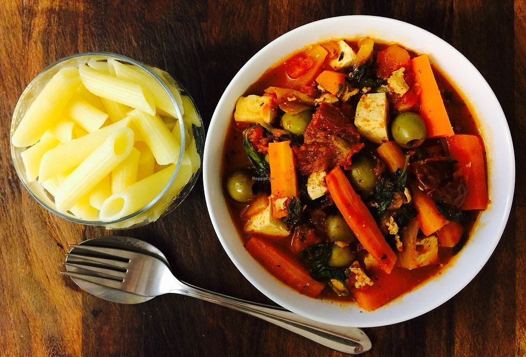 """Photo of Glo Foods  by <a href=""""/members/profile/glofoodsuk"""">glofoodsuk</a> <br/>Meal Package: Mediterranean Vegetables with Tofu. Ingredients and Recipe Card Delivered to your door. Glofoods.co.uk <br/> October 21, 2017  - <a href='/contact/abuse/image/103269/317246'>Report</a>"""