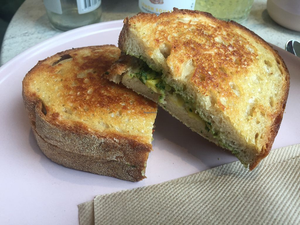 "Photo of Tidbit Cakes  by <a href=""/members/profile/Tiggy"">Tiggy</a> <br/>Pesto, tomato and cheese toasted sandwich $10 - Delicious <br/> December 10, 2017  - <a href='/contact/abuse/image/103282/334124'>Report</a>"