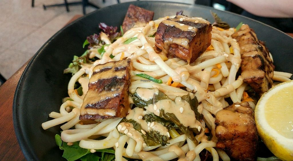 """Photo of SoulPod Foods  by <a href=""""/members/profile/verbosity"""">verbosity</a> <br/>Udon bowl <br/> January 22, 2018  - <a href='/contact/abuse/image/103284/349566'>Report</a>"""