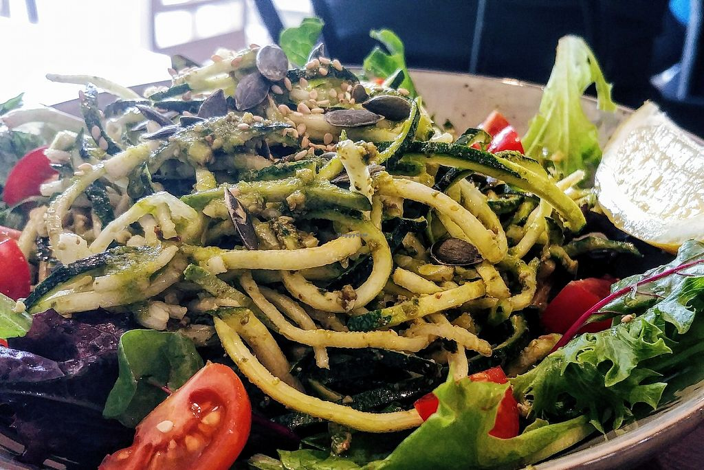 """Photo of SoulPod Foods  by <a href=""""/members/profile/karlaess"""">karlaess</a> <br/>Doodle salad <br/> March 2, 2018  - <a href='/contact/abuse/image/103284/365612'>Report</a>"""