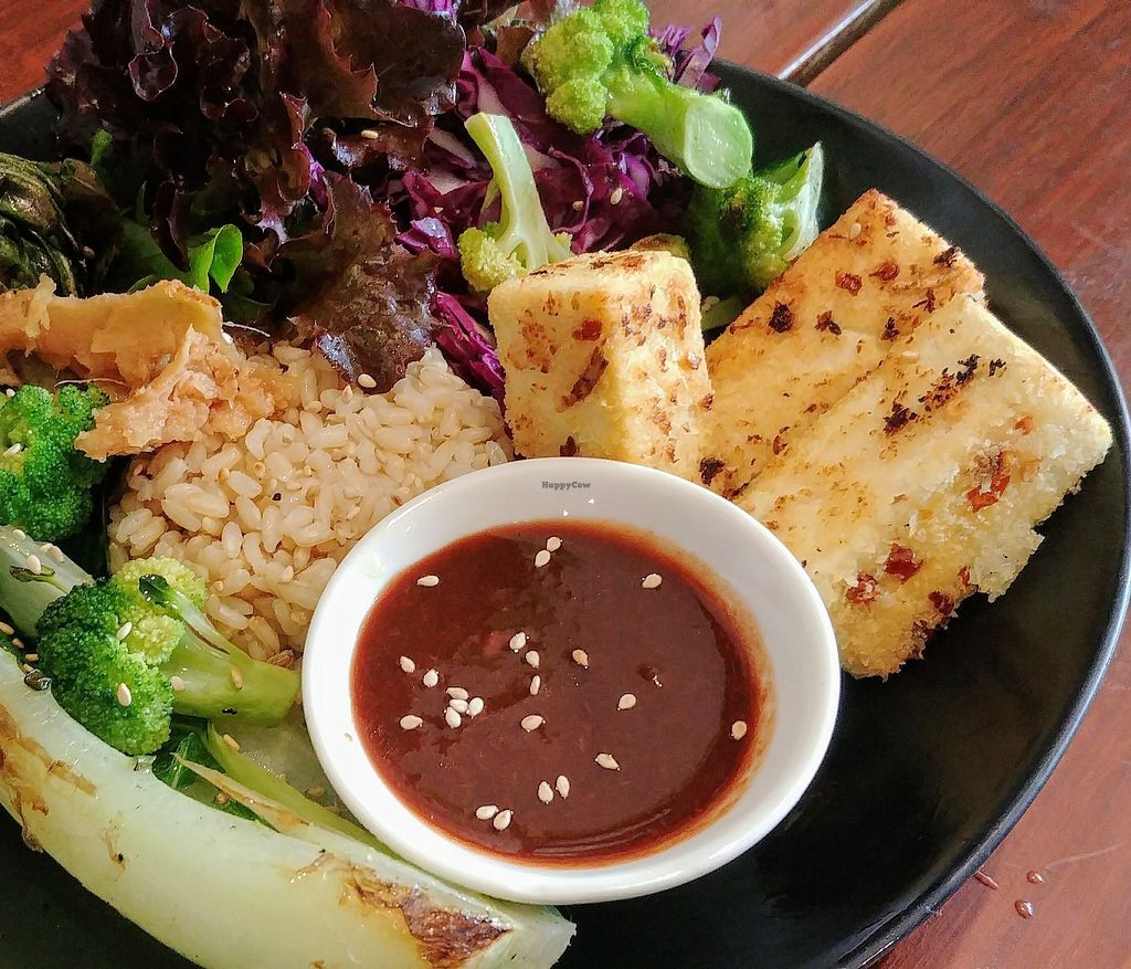 """Photo of SoulPod Foods  by <a href=""""/members/profile/karlaess"""">karlaess</a> <br/>Coconut tofu (special) <br/> March 2, 2018  - <a href='/contact/abuse/image/103284/365613'>Report</a>"""