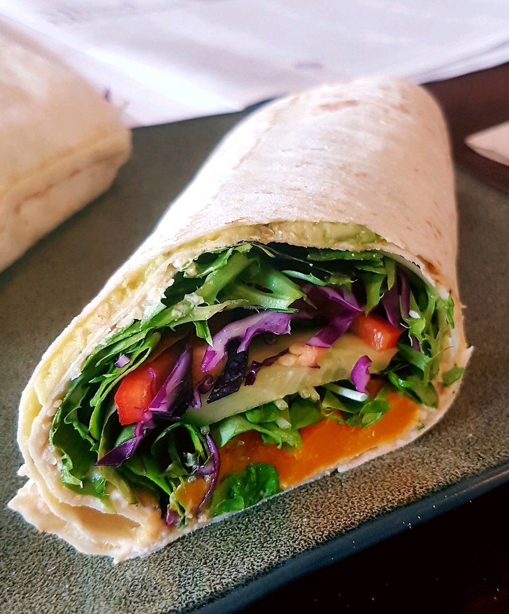 """Photo of SoulPod Foods  by <a href=""""/members/profile/andibrand"""">andibrand</a> <br/>The wrap <br/> March 29, 2018  - <a href='/contact/abuse/image/103284/377584'>Report</a>"""