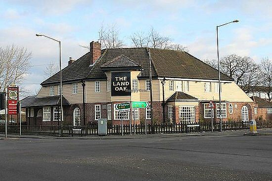 """Photo of The Land Oak Pub  by <a href=""""/members/profile/Sherrychampers"""">Sherrychampers</a> <br/>Exterior <br/> October 20, 2017  - <a href='/contact/abuse/image/103300/317088'>Report</a>"""