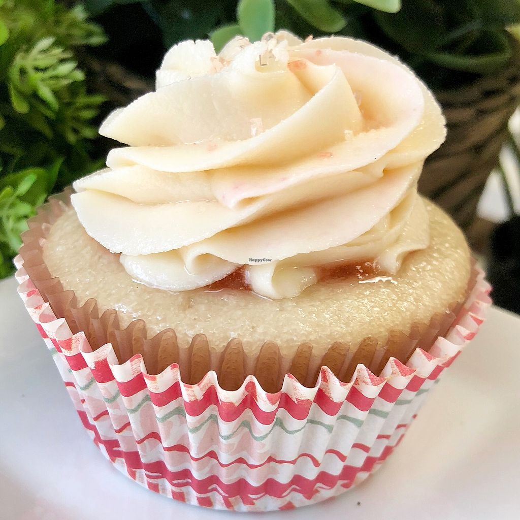 """Photo of HaleLife Bakery  by <a href=""""/members/profile/GlutenAway"""">GlutenAway</a> <br/>Raspberry Rosewater Cupcakes <br/> February 24, 2018  - <a href='/contact/abuse/image/103306/363133'>Report</a>"""