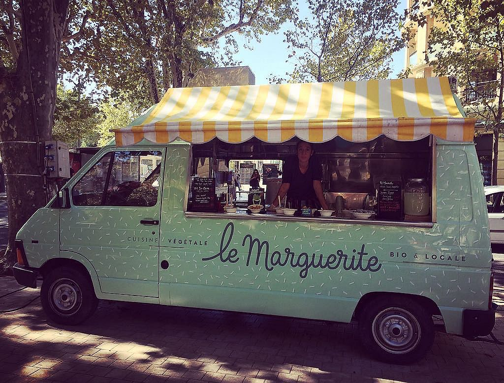 """Photo of Le Marguerite Food Truck  by <a href=""""/members/profile/CamilleFournier"""">CamilleFournier</a> <br/>The  truck  <br/> October 20, 2017  - <a href='/contact/abuse/image/103307/317038'>Report</a>"""