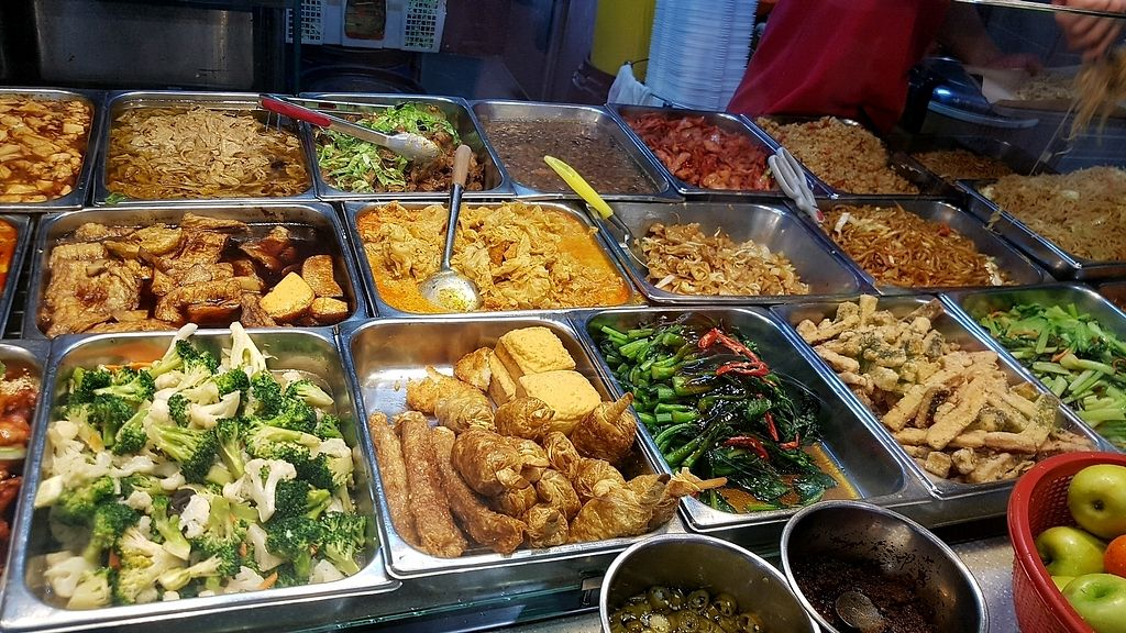 """Photo of Just Greens Vegetarian Food  by <a href=""""/members/profile/GarethHailes"""">GarethHailes</a> <br/>Buffet selection <br/> January 18, 2018  - <a href='/contact/abuse/image/10331/347841'>Report</a>"""