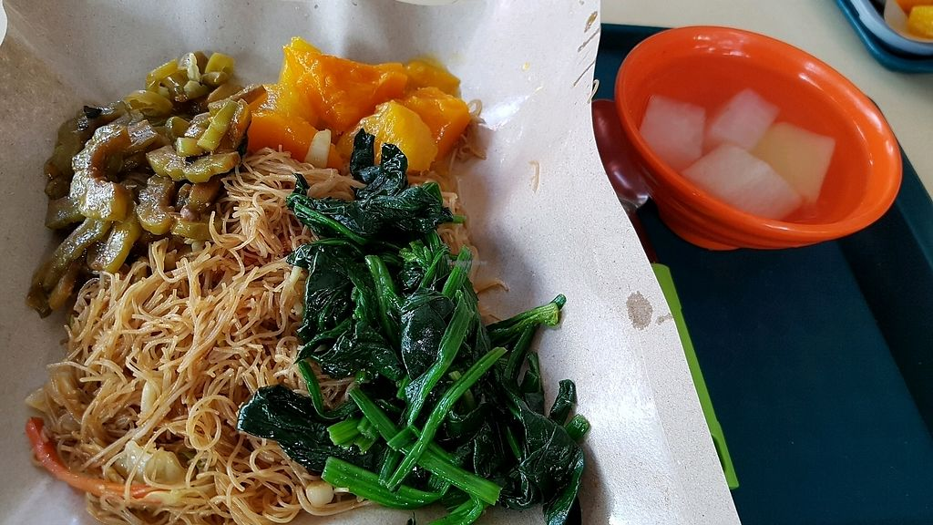 """Photo of Just Greens Vegetarian Food  by <a href=""""/members/profile/GarethHailes"""">GarethHailes</a> <br/>$3.60 <br/> January 18, 2018  - <a href='/contact/abuse/image/10331/347843'>Report</a>"""