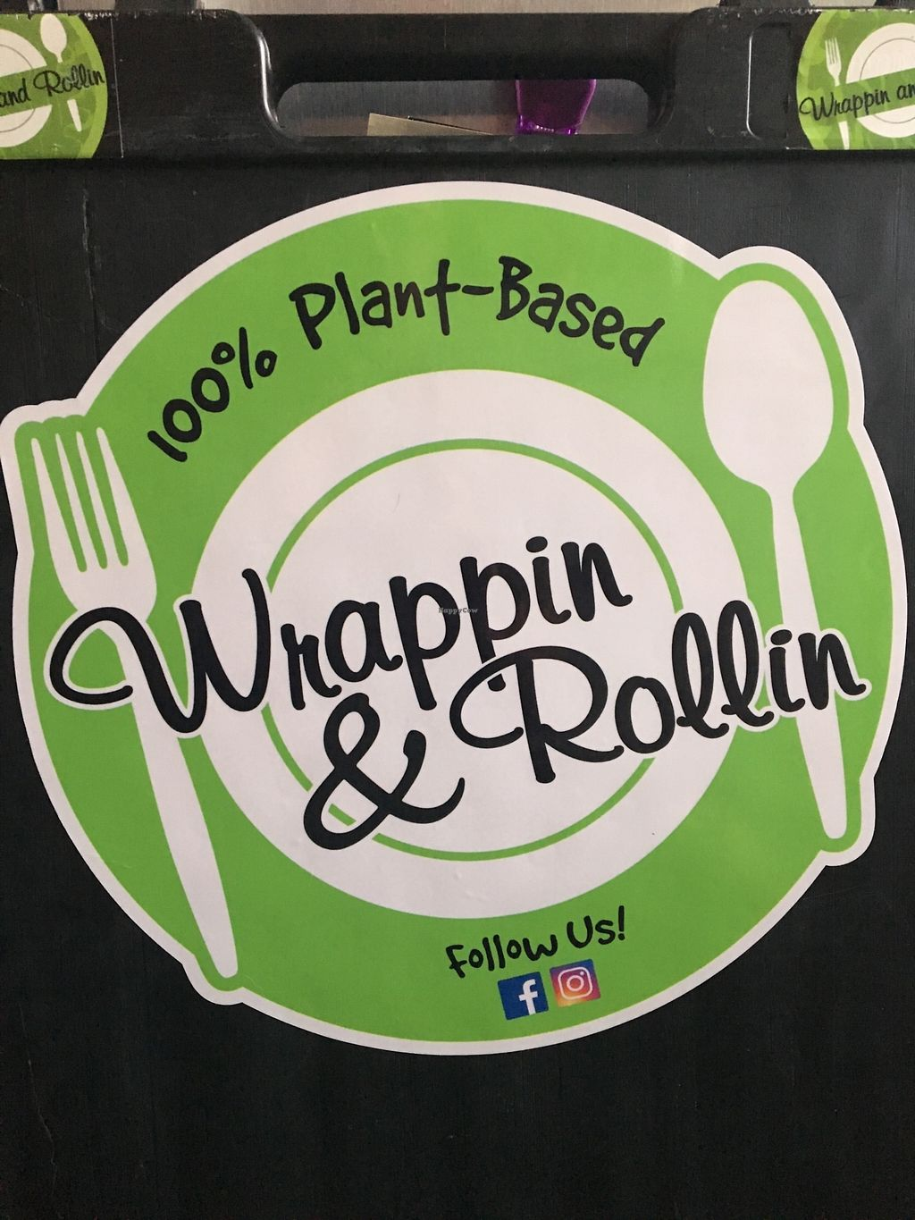 """Photo of Wrappin & Rollin - Food Truck  by <a href=""""/members/profile/DarylHawkins117"""">DarylHawkins117</a> <br/>Terrifically huge flavors from such a tiny little food truck!!! The owner knows what she's doing to have healthy, fresh organic food taste so delicious.  <br/> November 12, 2017  - <a href='/contact/abuse/image/103338/324773'>Report</a>"""