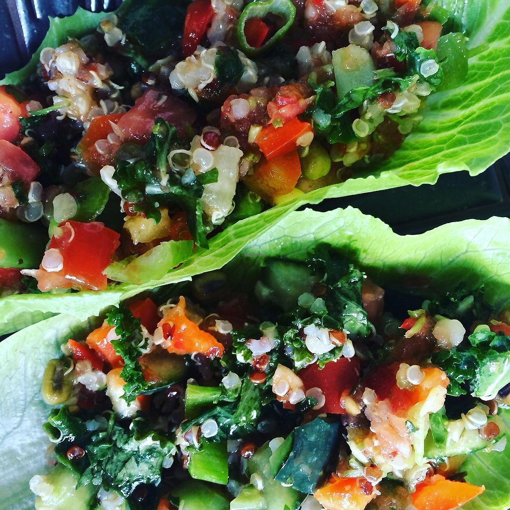 """Photo of Wrappin & Rollin - Food Truck  by <a href=""""/members/profile/DarylHawkins117"""">DarylHawkins117</a> <br/>Quinoa Salad <br/> November 12, 2017  - <a href='/contact/abuse/image/103338/324778'>Report</a>"""