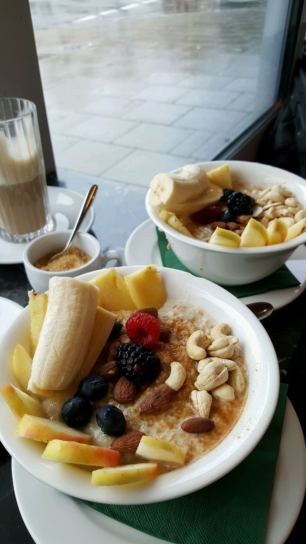 """Photo of Wagners Juicery & Health Food  by <a href=""""/members/profile/Fianna"""">Fianna</a> <br/>Porridge ? <br/> November 21, 2017  - <a href='/contact/abuse/image/103356/327772'>Report</a>"""