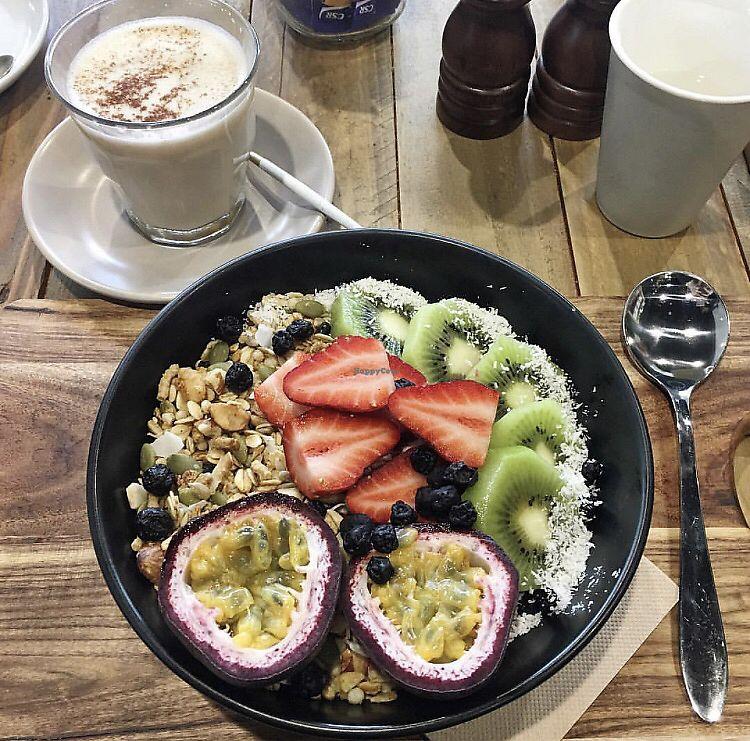 "Photo of The Natural Choice Cafe  by <a href=""/members/profile/moniquechaplin"">moniquechaplin</a> <br/>acai bowl <br/> October 22, 2017  - <a href='/contact/abuse/image/103362/317609'>Report</a>"