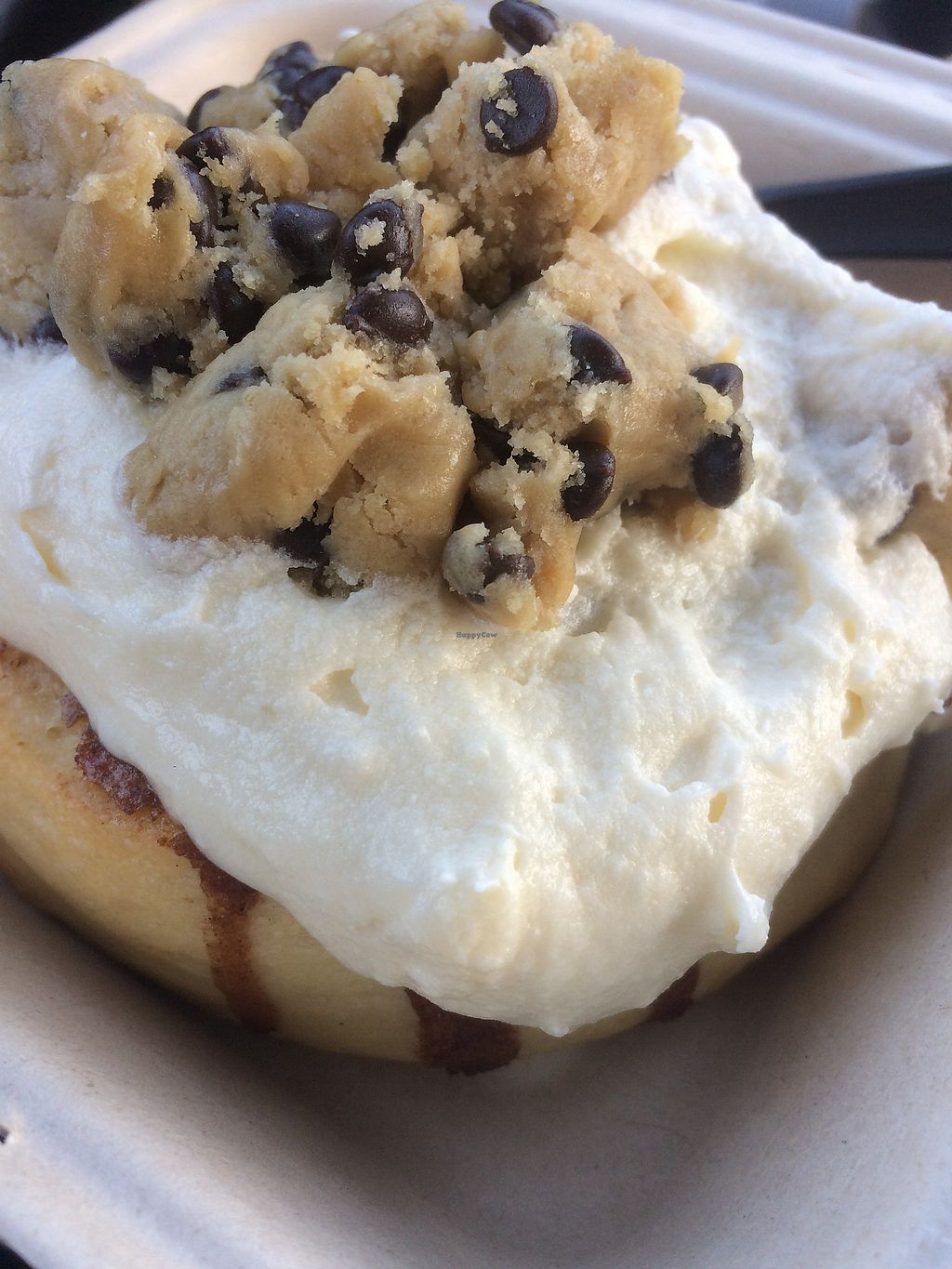 """Photo of Cinnaholic  by <a href=""""/members/profile/321_ac"""">321_ac</a> <br/>Cinnamon roll with vanilla frosting and cookie dough toppings :)  <br/> March 6, 2018  - <a href='/contact/abuse/image/103368/367554'>Report</a>"""
