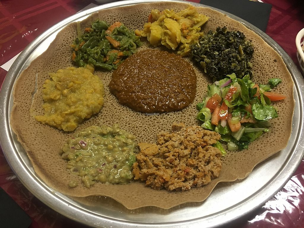 "Photo of Ayda Ethiopian Restaurant  by <a href=""/members/profile/Diet%20Coach"">Diet Coach</a> <br/>Vegan Options <br/> November 19, 2017  - <a href='/contact/abuse/image/103378/326865'>Report</a>"
