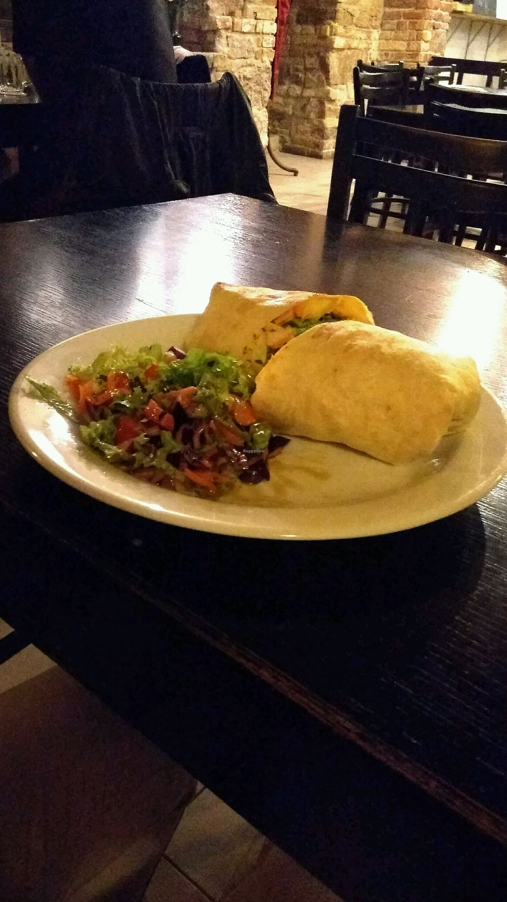 """Photo of Tři Ocásci  by <a href=""""/members/profile/rOdy"""">rOdy</a> <br/>tempeh BBQ wrap <br/> February 1, 2018  - <a href='/contact/abuse/image/103404/353604'>Report</a>"""