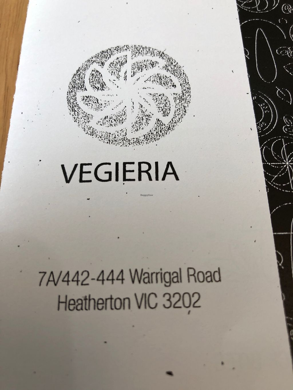 """Photo of Vegieria  by <a href=""""/members/profile/tardis3"""">tardis3</a> <br/>Name & address  <br/> November 25, 2017  - <a href='/contact/abuse/image/103413/328868'>Report</a>"""