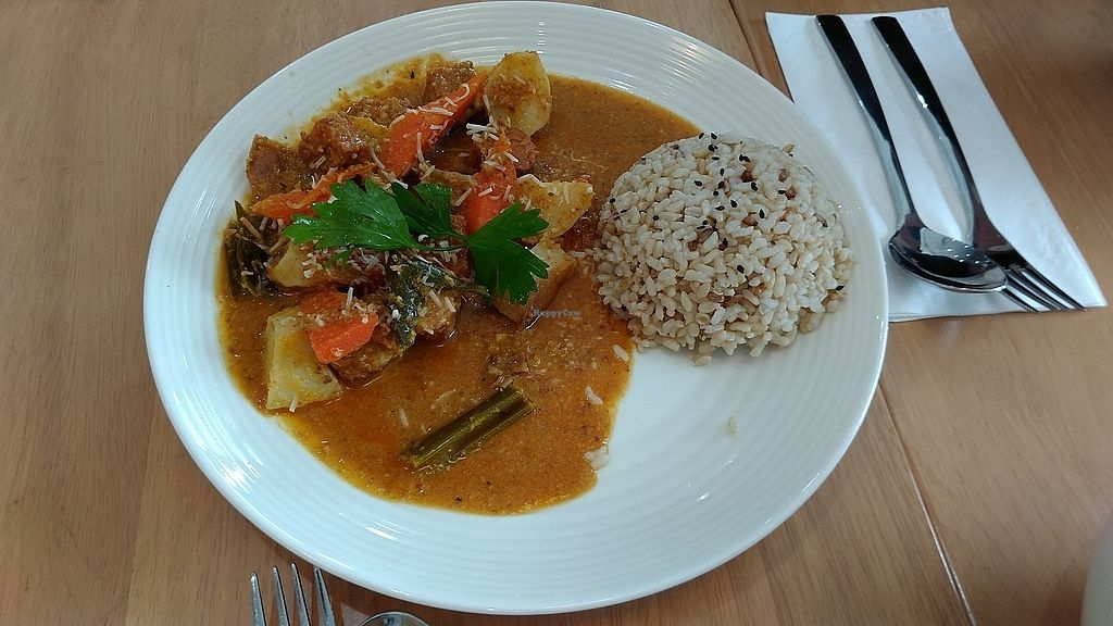"""Photo of Vegieria  by <a href=""""/members/profile/vegelover"""">vegelover</a> <br/>Tempeh Rendang <br/> February 17, 2018  - <a href='/contact/abuse/image/103413/360193'>Report</a>"""